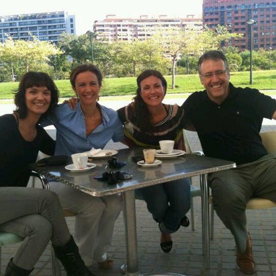Mi equipo en Ciudad de las Artes y las Ciencias